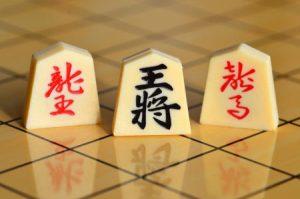 Spielsteine bei Shogi